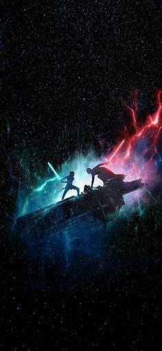 Star Wars Rise of Skywalker phone wallpapers Ver Star Wars, Star Wars Fan Art, Star Trek, Images Star Wars, Star Wars Pictures, Star Wars Wallpaper Iphone, Phone Wallpapers, Assasin Creed Unity, Star Wars Painting