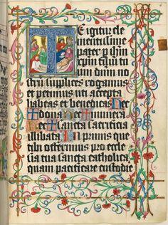 Missale quinque tomis constans, qui omnes multis (plus centum) et nitidissimis picturis ornati sunt (Bd. 5) Clm 15712 nach 1478 bis 1481 Folio 16