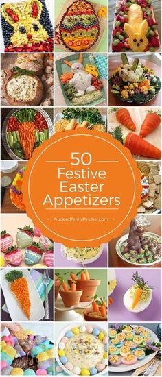 50 Festive Easter Appetizers