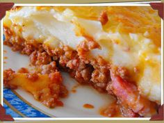 Varomeando: Mincemeat pie and mashed potatoes - Recetas Thermomix - Pastel de Tortilla Mincemeat Pie, Mince Meat, Side Recipes, Lasagna, Mashed Potatoes, Meals, Cooking, Ethnic Recipes, Food