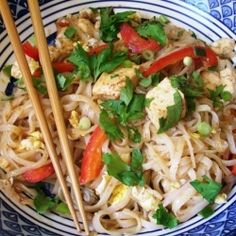 Delicious and fun to make...Pad Thai.