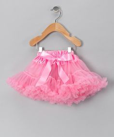Take a look at this Light Pink Pettiskirt - Infant, Toddler & Girls by Just For Girls on #zulily today!