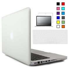 New Crystal Matte Hard Case Cover For Macbook Pro 13 inch with Keyboard Cover+Screen Protector for Mac Book Pro 13 Case Macbook Pro Cover, Macbook Pro 13 Inch, Macbook 13, Keyboard Cover, Macbook Pro 13 Pouces, Laptop Accessories, Screen Protector, Mac Book, Crystals