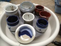 B-mix.  Various pots.
