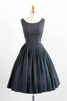 classically classic.  vintage 1950s dress ...