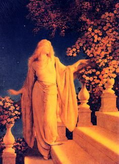 Cinderela  Maxfield Parrish Art And Illustration, Illustrations, Maxfield Parrish, Pre Raphaelite, Classical Art, Art Images, Les Oeuvres, Art Inspo, Art History