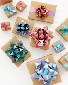 wrapping and bow ideas