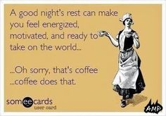 Coffee does that - sleep is overrated! #lifeboostcoffee lifeboostcoffee.com #coffee #funny #meme #humor