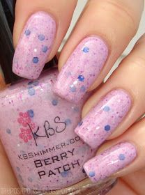 The Posh Polish: Pink Wednesday: KBShimmer Berry Patch
