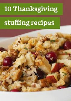 10 Thanksgiving stuffing recipes – From its role in epic Thanksgiving feasts and holiday menus to its ability to deliciously round out quick weeknight meals, stuffing deserves compliments for its complementary appeal.