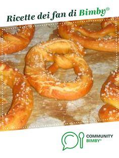 PRETZELS è un ricetta creata dall'utente SONNY78. Questa ricetta Bimby<sup>®</sup> potrebbe quindi non essere stata testata, la troverai nella categoria Pane su www.ricettario-bimby.it, la Community Bimby<sup>®</sup>. Onion Rings, Pizza, Ethnic Recipes, Food, Essen, Meals, Yemek, Onion Strings, Eten
