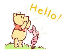 Winnie Pooh uploaded by GLen =^● 。●^= on We Heart It Winnie The Pooh Gif, Winnie The Pooh Drawing, Winne The Pooh, Mickey Mouse Wallpaper, Cute Disney Wallpaper, Cute Cartoon Wallpapers, Cute Disney Pictures, Cute Disney Drawings, Emoticons