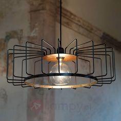 Futura – lampa wisząca, corten 8513617
