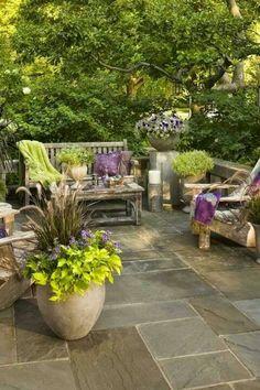 Patio #garden #paving #garden