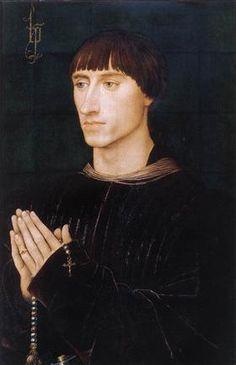 Портрет Филиппа де Круа - Рогир ван дер Вейден