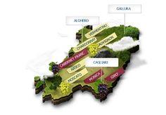 Mappa dei vitigni coltivati in Sardegna  http://www.vino-online.it/