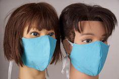 Mund-Nasen-Schnellmasken Beauty, Beauty Illustration