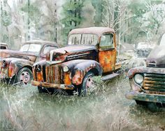 V B Goldman Watercolor