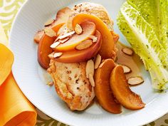 Savory Peach Chicken Recipe : Ellie Krieger : Food Network - FoodNetwork.com