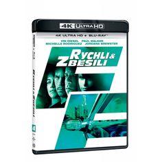 Blu-ray Rychlí a zběsilí, UHD + BD, CZ dabing | Elpéčko - Predaj vinylových LP platní, hudobných CD a Blu-ray filmov Michelle Rodriguez, Vin Diesel, Paul Walker, Blues