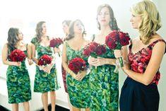 Avion Feminin Bridesmaids dresses + maid of honor