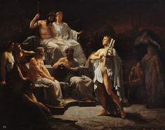 Orpheus in the under world. 1865. Louis Jacquesson de la Chevreuse. French.