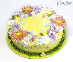 Flower's Day Cake - Cake by MLADMAN