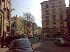 Stone Buildings in Lyon Street