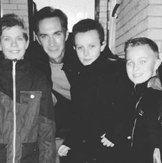 03 Feb 2016: James D'Arcy with young fans who were on the set of Snowman - from  @klainsjaik instagram (Thank you for sharing!)