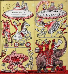 I really have to restrain myself from putting in waaaay too many images of Edward Bawden's delightful work. He was a painter, illustrator and graphic artist, as well as serving as a war artist during the Second World War. He chronicled much of the 20th century and his graphic design imprinted itself on mid-century English...Read More