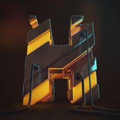 Alphabet Illustrations | Abduzeedo Design Inspiration