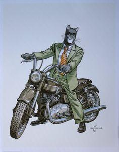 "juanjo guarnido art | Juanjo GUARNIDO : ""Blacksad, Triumph"""