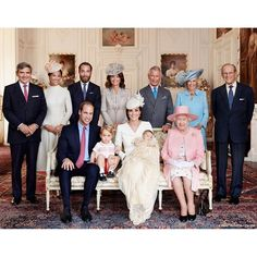 The very first Royal Christening photo has been released by Kensington Royal