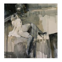 "Blue Nabler 24""x24"" 