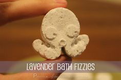 DIY Bath Fizzies: Make your own bath fizzies in any shape and any scent in under half an hour!