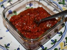 """Roasted Red Pepper & Caramelized Balsamic Onion """"Jam"""""""