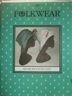 The 269 Metropolitan Hat sewing pattern from Folkwear