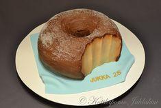 Munkkikakku Pudding, Cake, Desserts, Food, Tailgate Desserts, Deserts, Custard Pudding, Kuchen, Essen