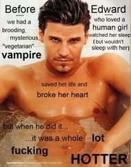 David Boreanaz / Angel / Angelus .... and FACT! @Lauren Hous there is your shirtless :P