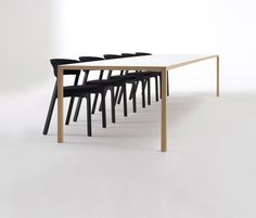 Dining tables | Tables | Slim  | Arco | Bertjan Pot. Check it out on Architonic