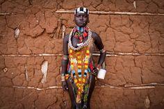 Hamar woman in her wedding dress - Imgur