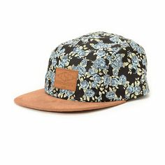 1ed464a4959 Instantly brighten any outfit with the stylish and lightweight Empyre  Crutch Phrase black 5 panel hat