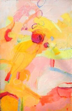 "Saatchi Art Artist rebecca klementovich; Painting, ""He is all Pine I am apple orchard"" #art"