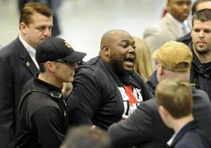Apparently  Trump now has issues with freedom of speech.  A Black Lives Matter activist was punched at a campaign rally in Birmingham, Ala.