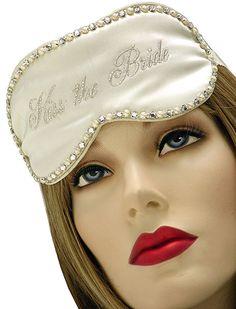 Kiss The Bride Sleep Mask $24.00