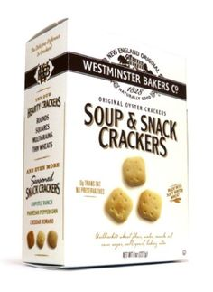 Westminster Bakers All Natural Crackers, Oyster, « Blast Grocery