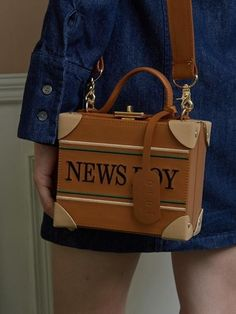 Newsboy Carrier Mini Bag