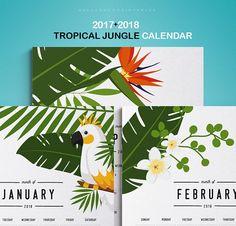 2017 2018 Printable Calendar