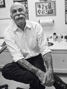 C.W. Eldridge preserving tattoo history (tattoo archive, winston salem NC)