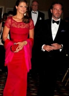 HRH Princess Madeleine and Chris O'Neill 5/11/2013